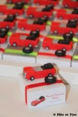 Boîtes à dragées voitures cabriolets