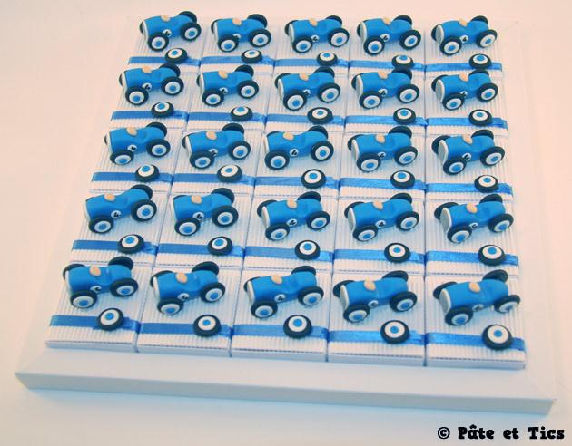 Boîtes à dragées voitures à pédales 02