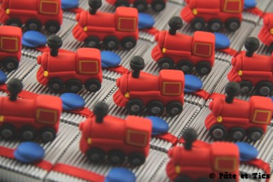 Boîtes à dragées locomotives trains