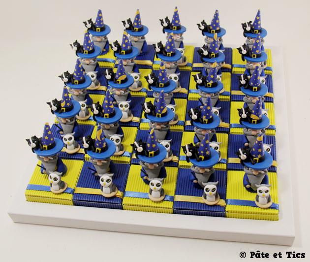 Boîtes à dragées Merlin l'Enchanteur