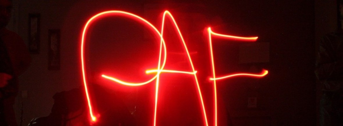 light painting PAF