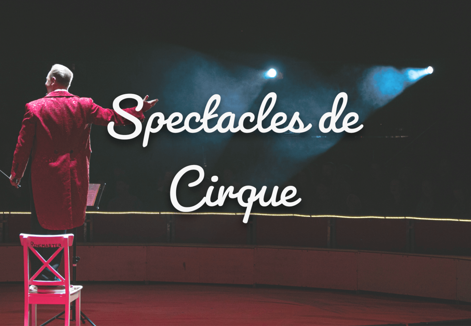 spectacles de cirque