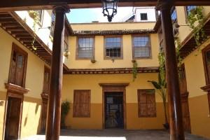 Interior de la Casa de Cáceres