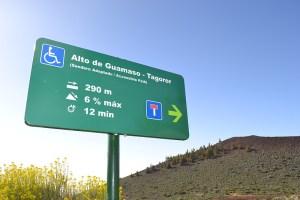 Sendero Adaptado: Alto de Guamaso - Tagoror