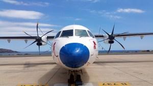 Cómo viajar entre islas Foto cedica por Canaryfly