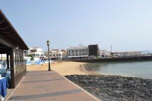 Playa del Muelle Chico en Corralejo, Fuerteventura