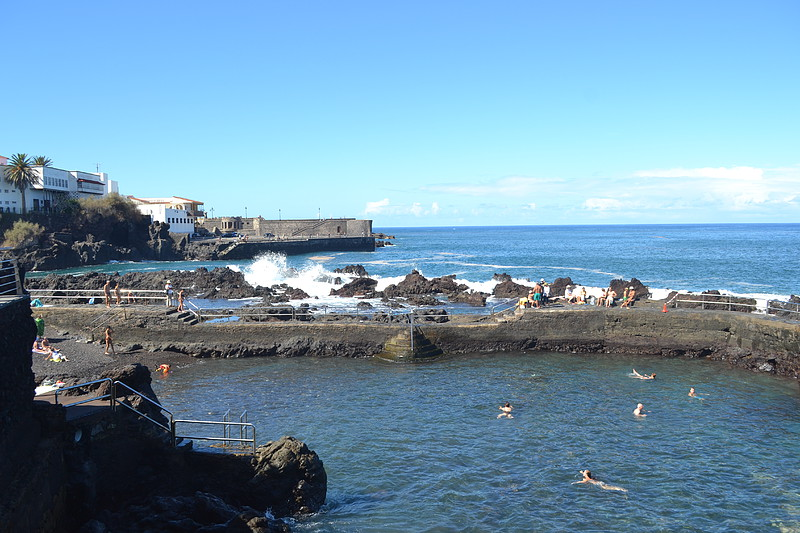 Playa de san telmo en puerto de la cruz patea tenerife - Playa puerto de la cruz tenerife ...