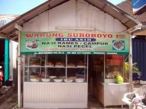 Nama warung makan unik
