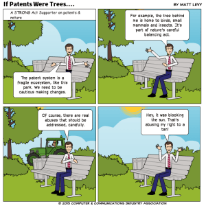 If Patents Were Trees