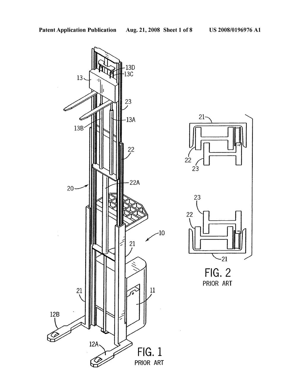 Lift Truck Diagram