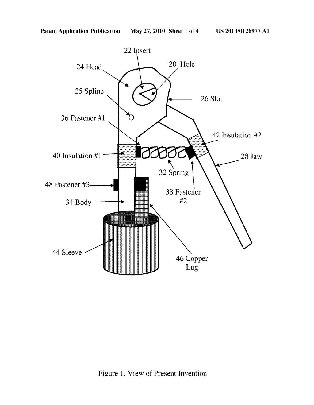 Welding Electrode Diagram