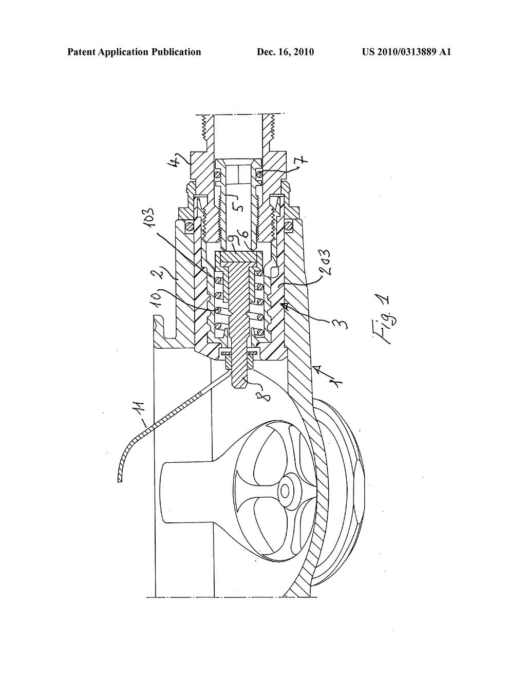 Gas Regulator Schematic