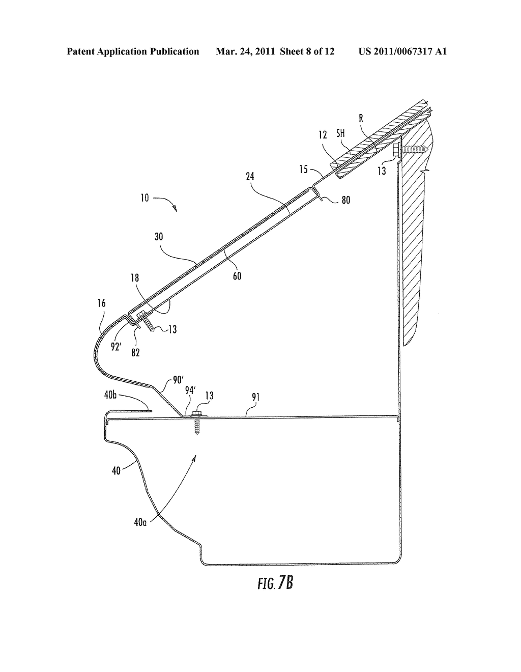 Removable Roof Gutters Amp Patent Drawing Sc 1 St