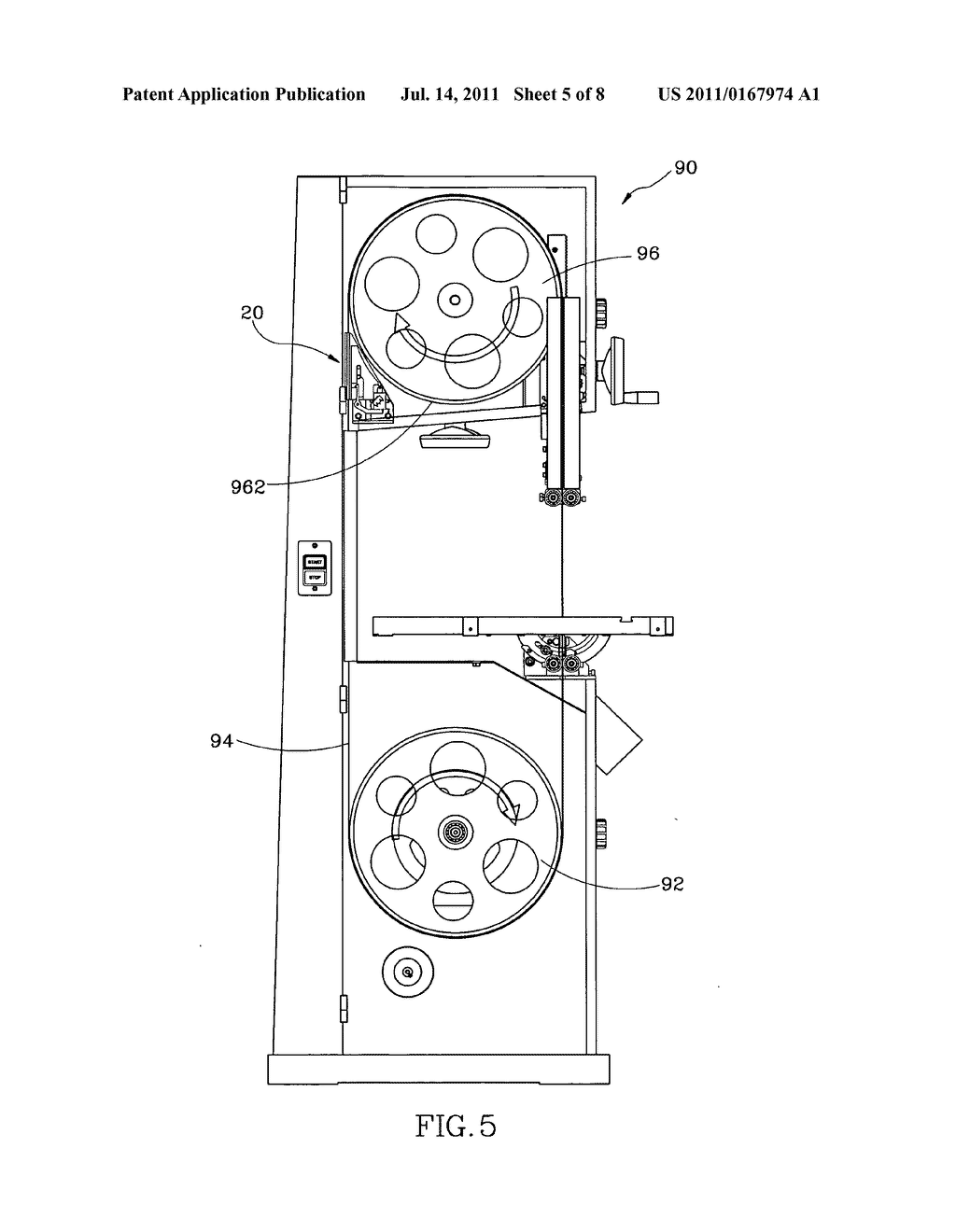 Bandsaw Wiring Diagram