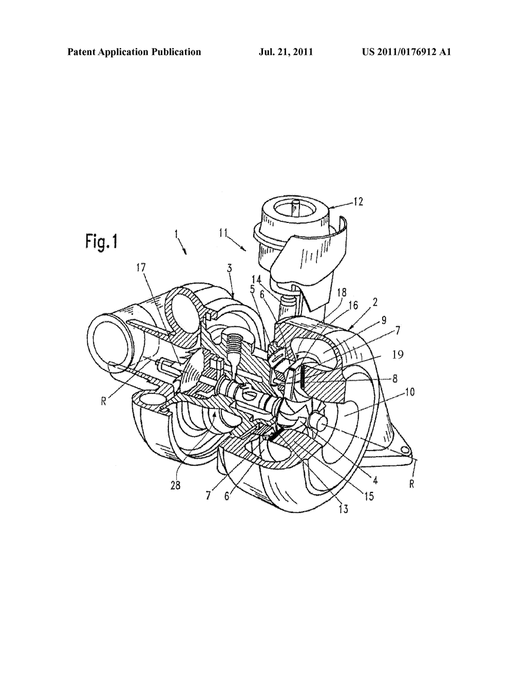 Turbocharger and holding disk therefor diagram schematic and