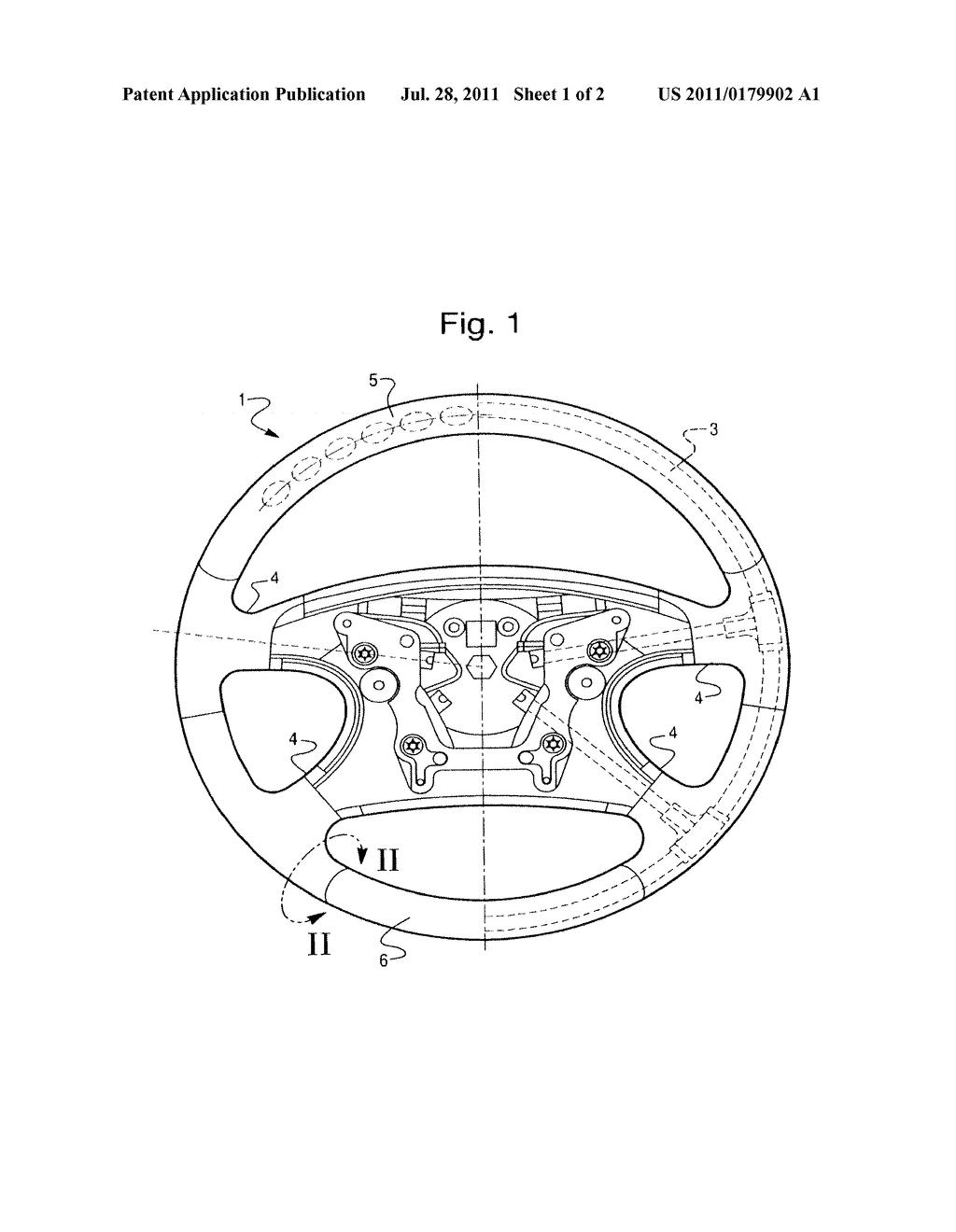 Steering Wheel Diagram