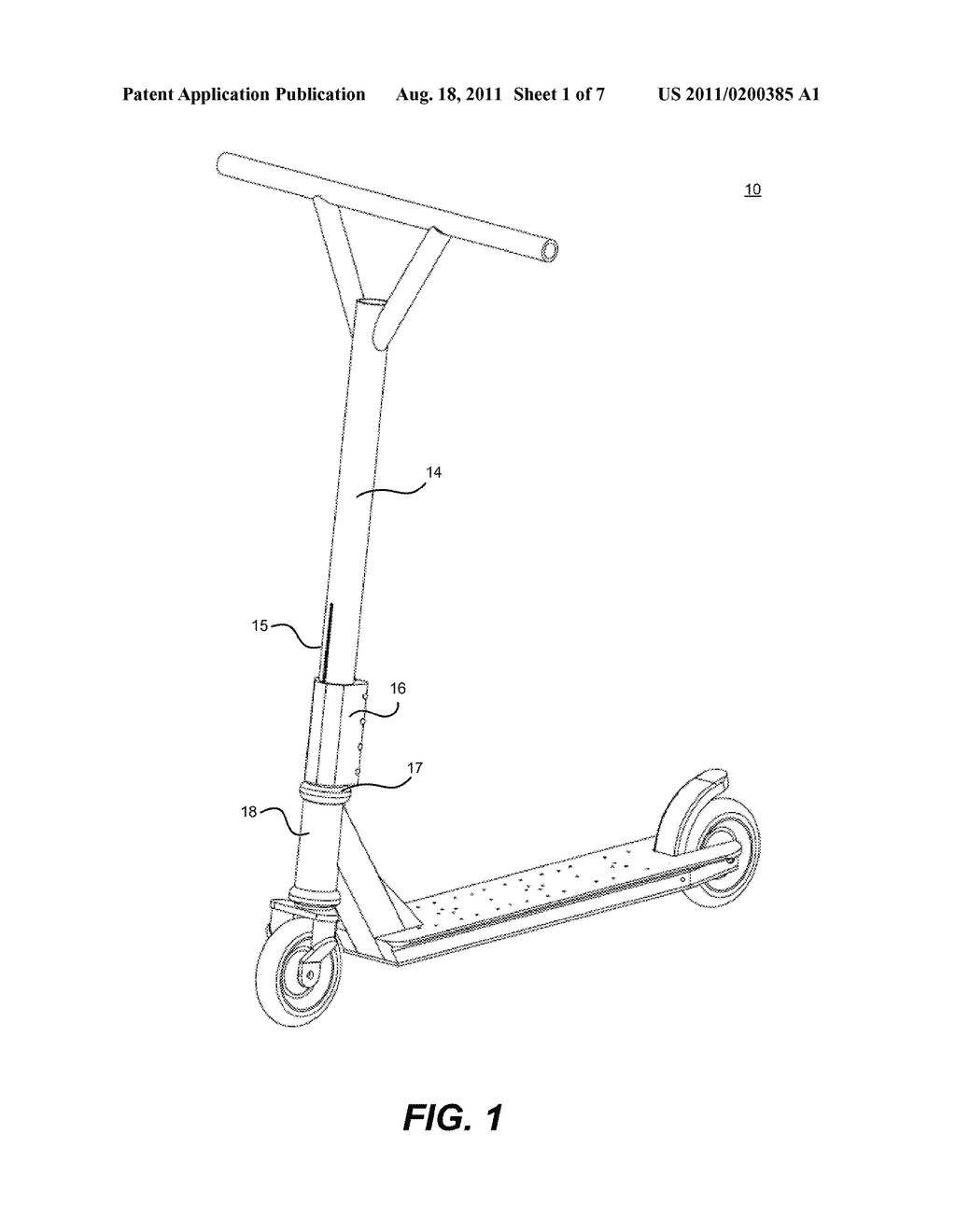 Electric Scooter Diagram