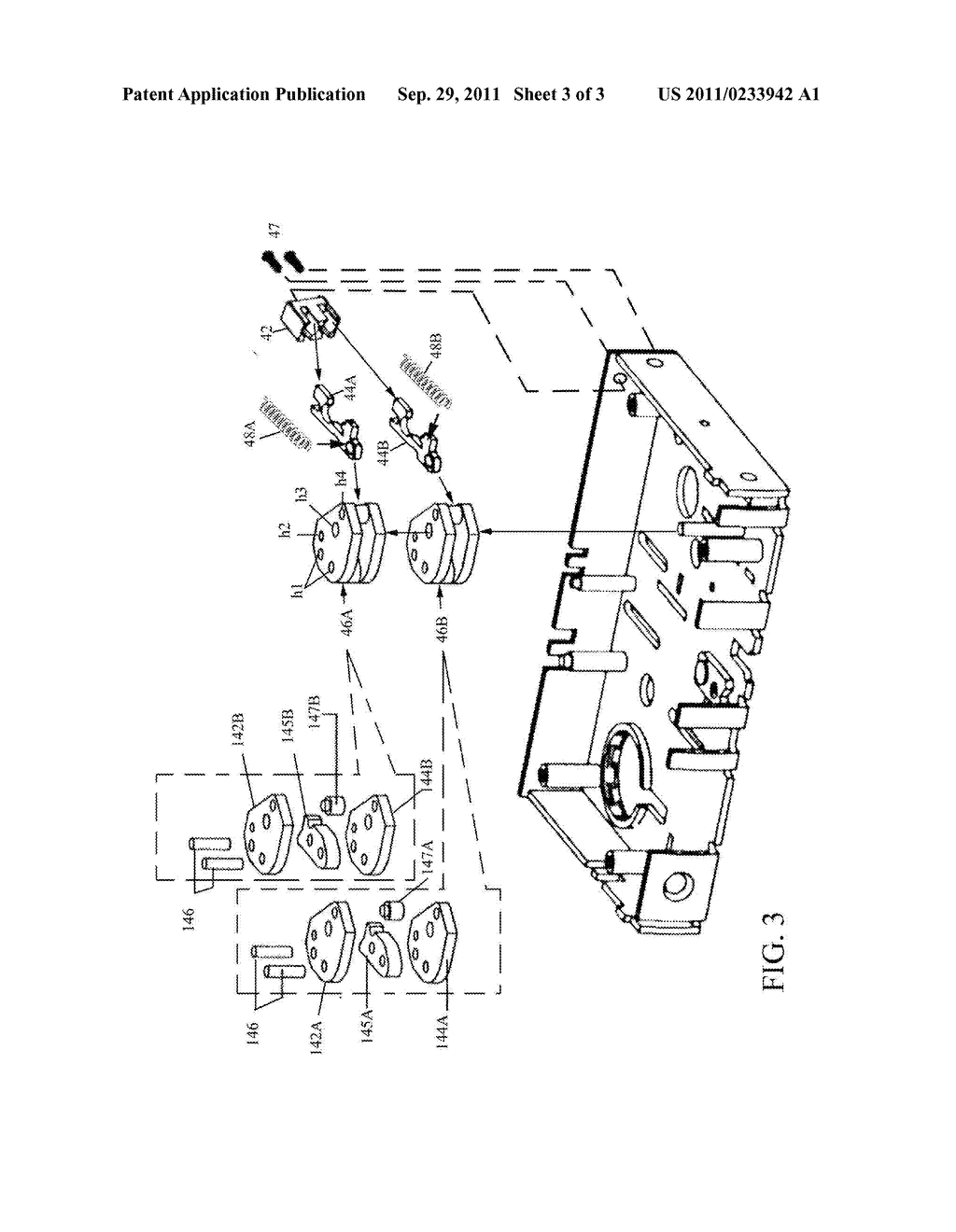 Mortise lock with dual reverse lockout mechanism diagram rh patentsencyclopedia mortice lock diagram inside mortise