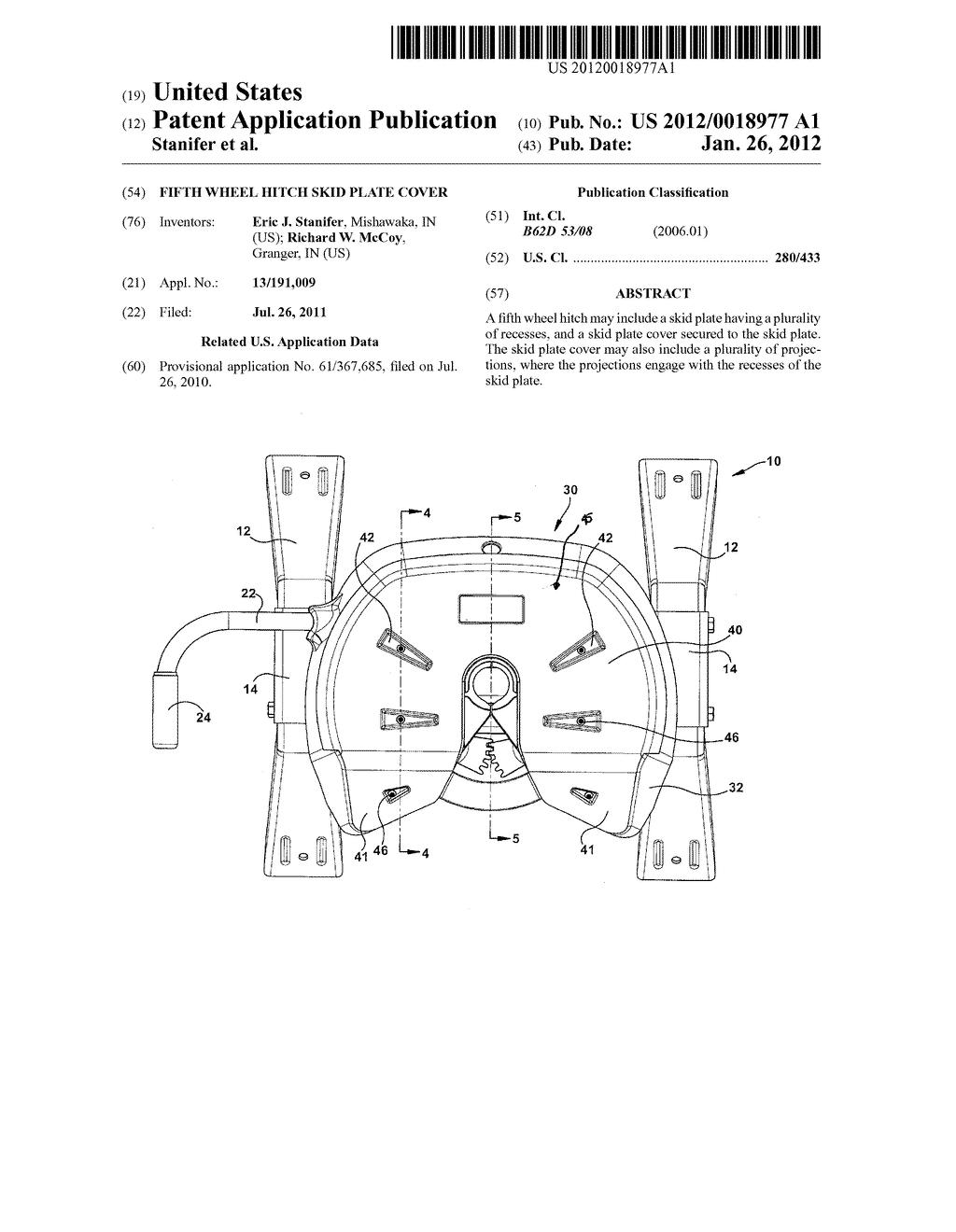 Plate Diagram Wheel Rv 5th