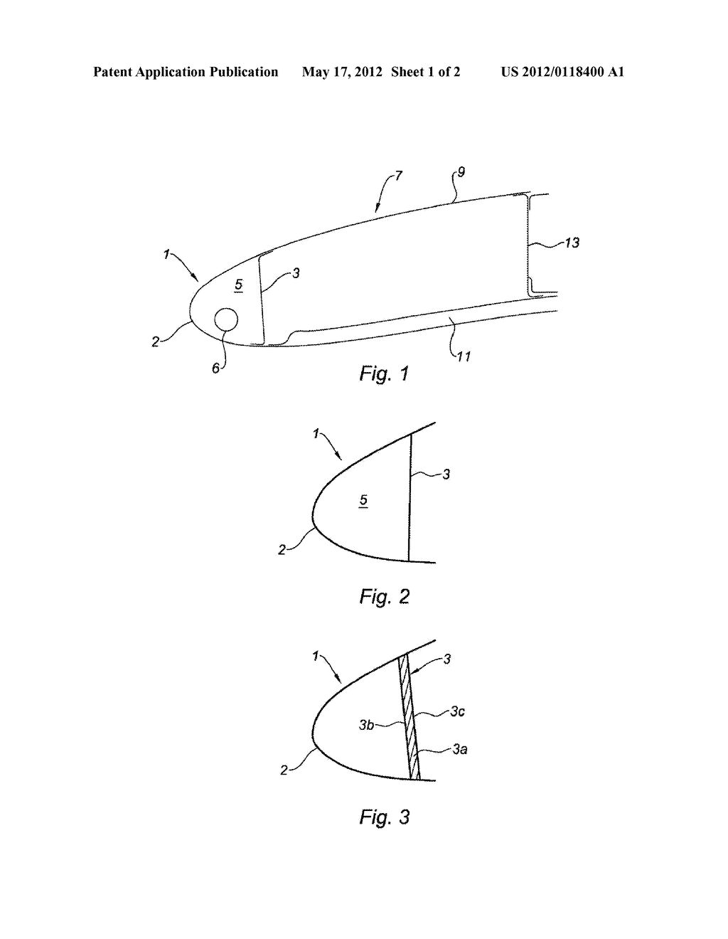 Leading edge structure in particular for the air intake of the
