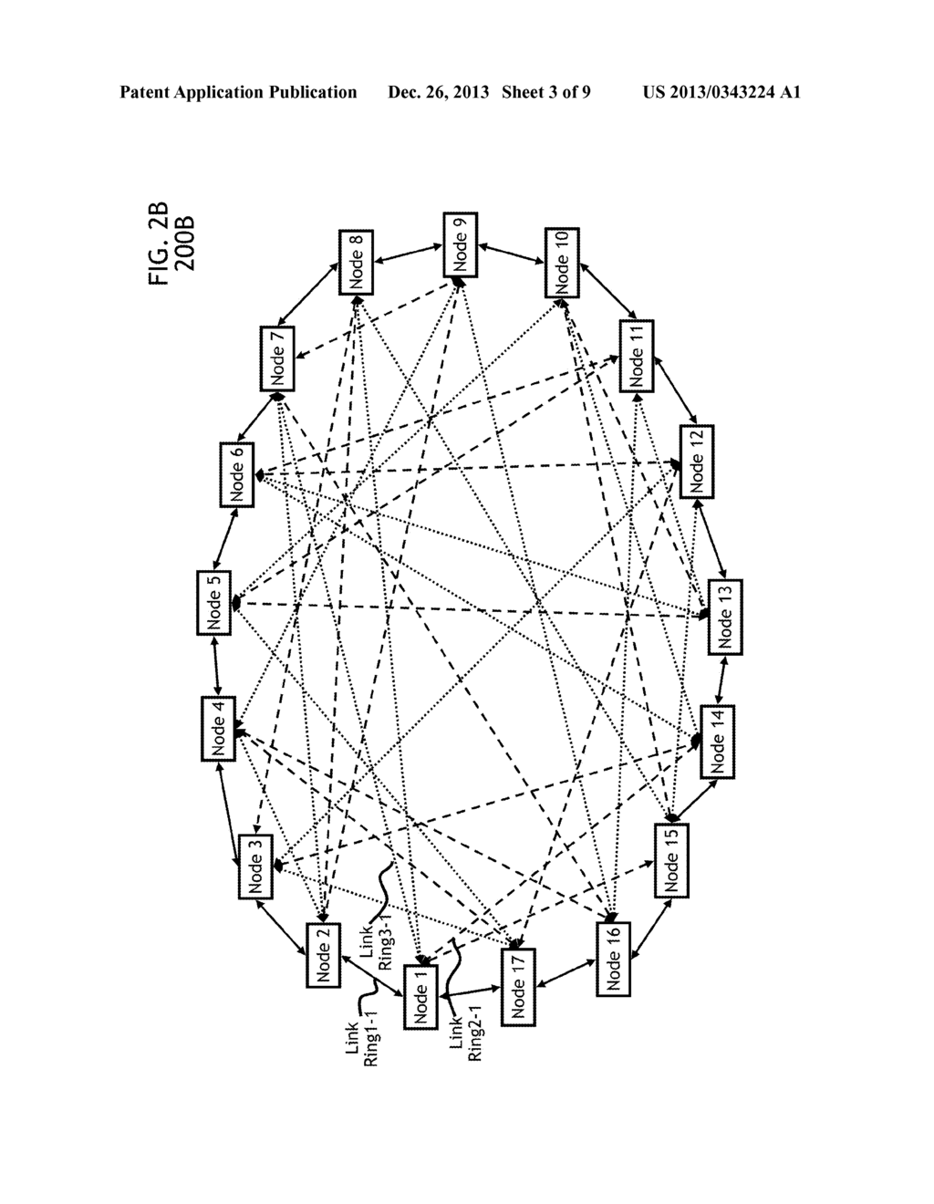 Method and apparatus for providing a non overlapping ring mesh 20130343224 04 20130343224 04 mesh work topology diagram mesh work topology diagram