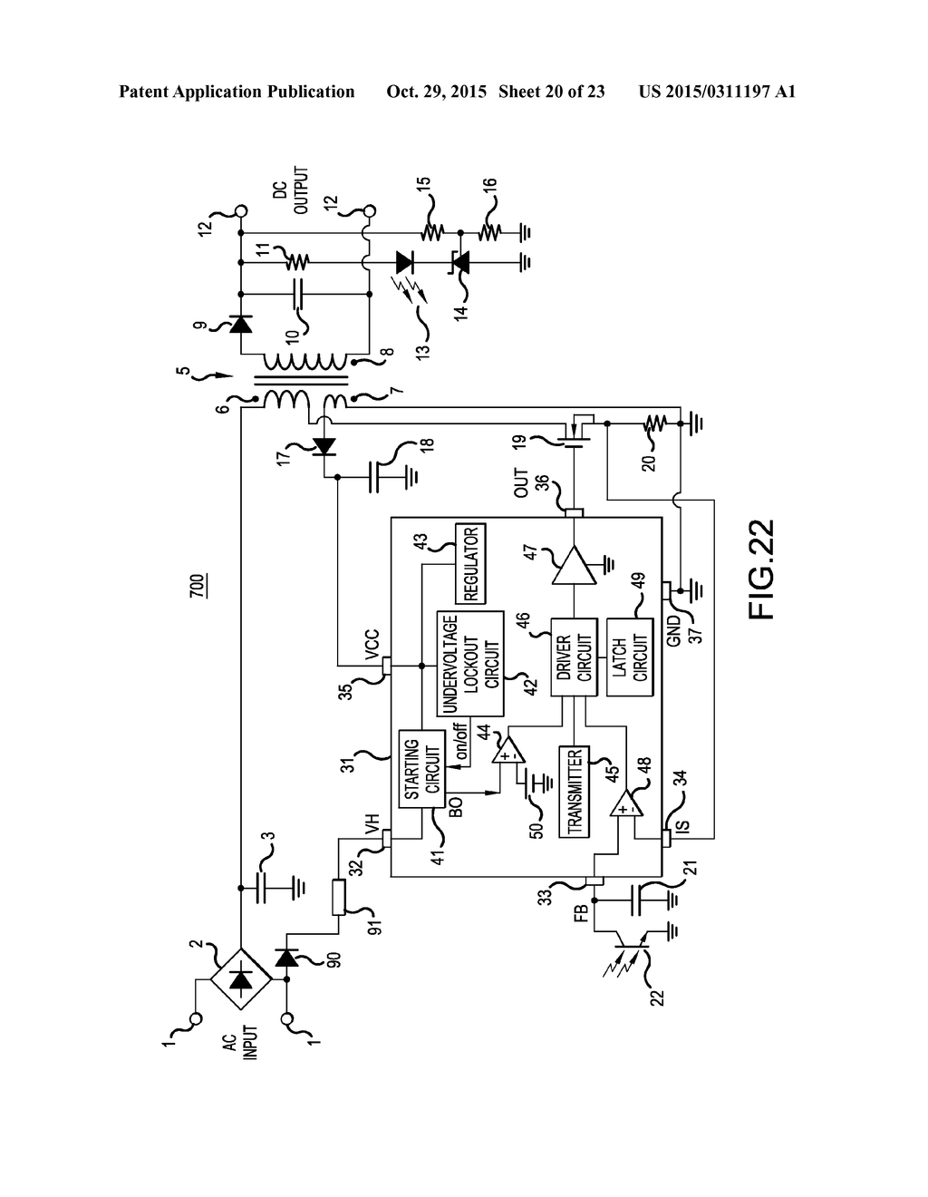 Semiconductor device switching power supply control ic and 20150311197 21 20150311197 21 switching power supply schematic diagram