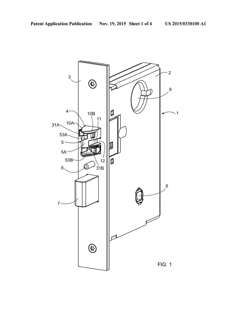 wiring diagram for door hardware