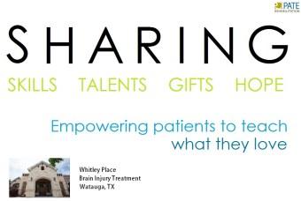 patient teachers program at Pate Whitley Place