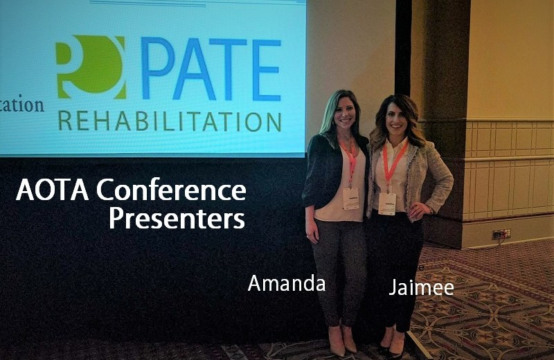 driver rehab presenters at AOTA conference