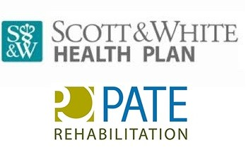 pate and scott & white logos