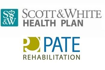 pate and scott & white logos