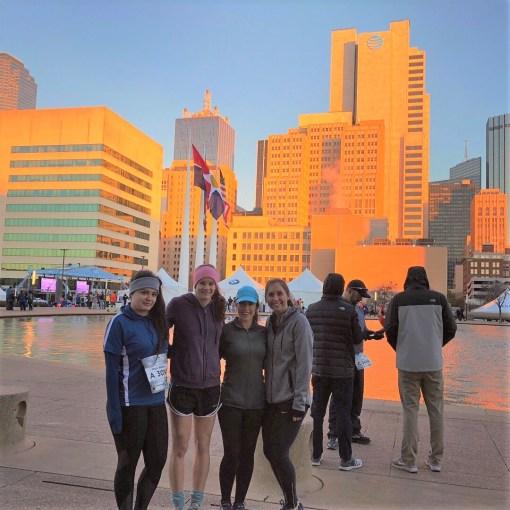 dallas half marathon runners