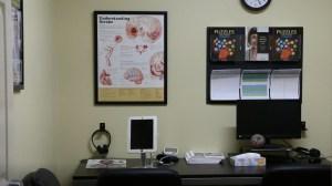 stroke education centers desk