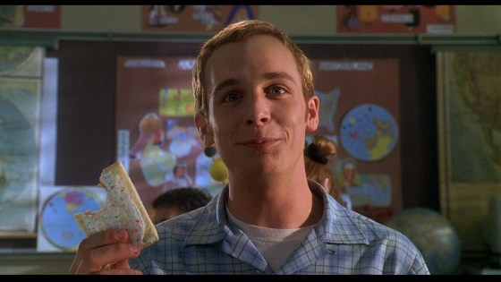 Pop Tart Scene from Can't Hardly Wait