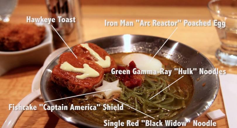 Marvel x Ippudo Avengers Interactive Ramen Dinner