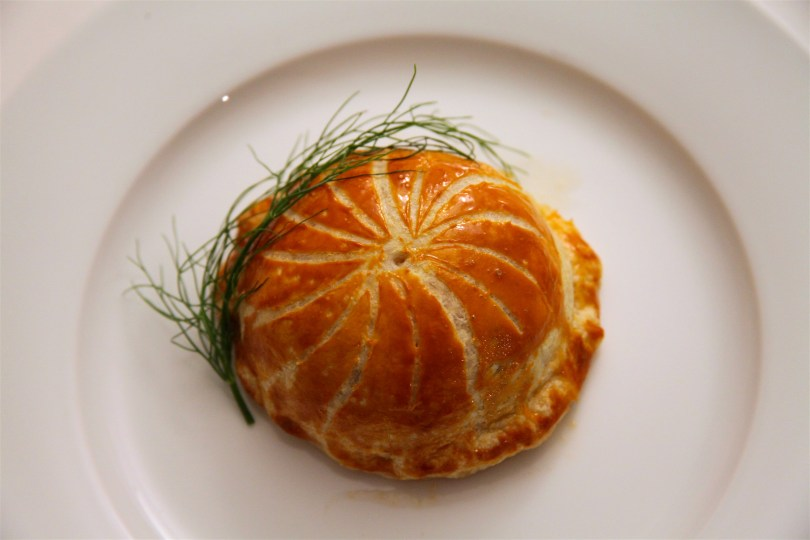 Chicken Fennel and Roasted Tomato Savory Pithivier