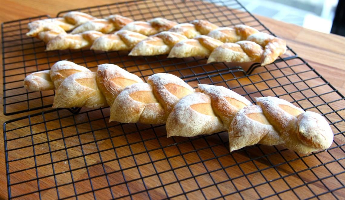 French Pain D'Epi Wheat Stalk Bread Recipe