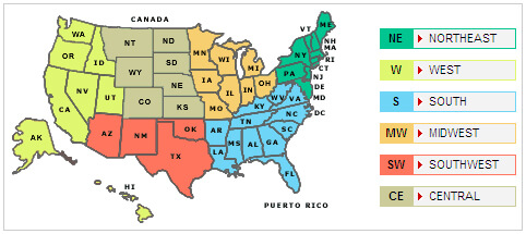 Find usa state postal abbreviations at a glance with this useful, free outline map image. Us Map With States Their Abbreviations