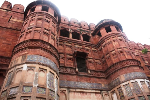 Image result for red fort of agra