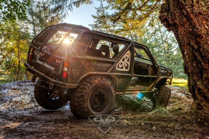 The Pathmaker Rig - Nissan Pathfinder one ton sas build done by Pathmaker Productions