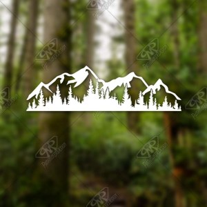 Outdoor Adventure Decals