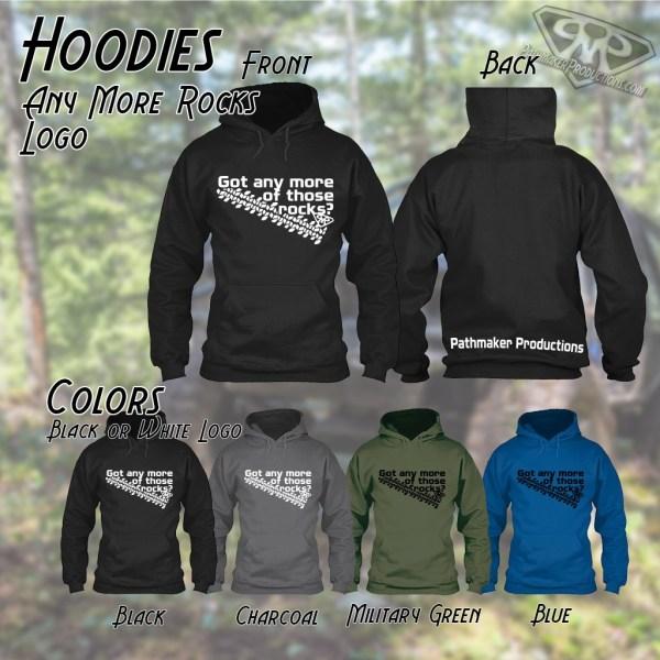 Any More Rocks Logo Hoodie
