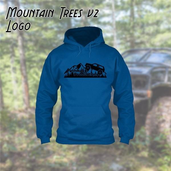 Mountain Trees v2 Logo Hoodie