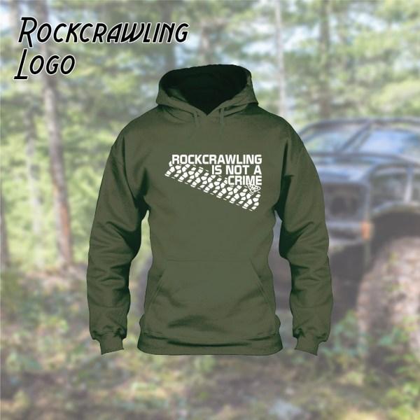 Rock Crawling Logo Hoodie