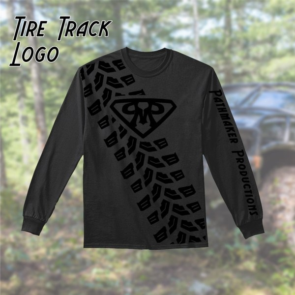 Tire Track Long Sleeve Tees