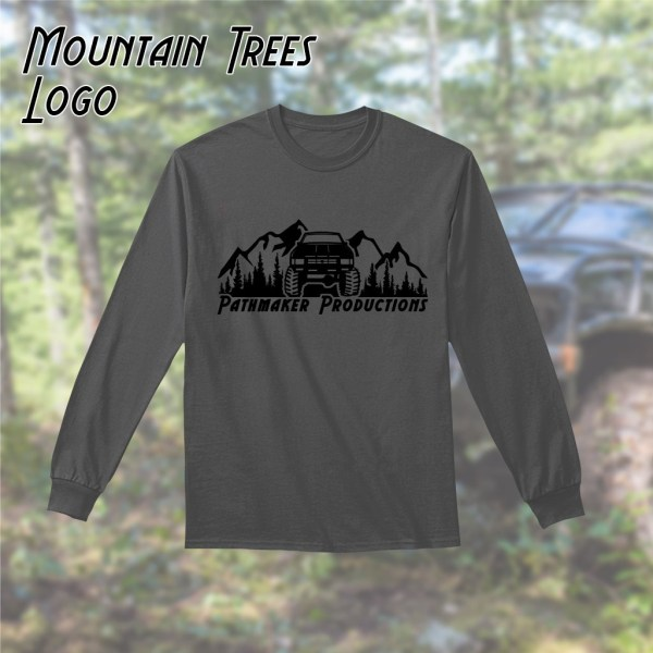 Mountain and Trees Long Sleeve Tee