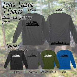 Mountain Trees v2 Long Sleeve Tee