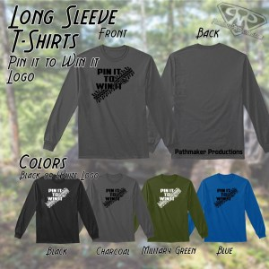Pin it to Win it Long Sleeve Tee