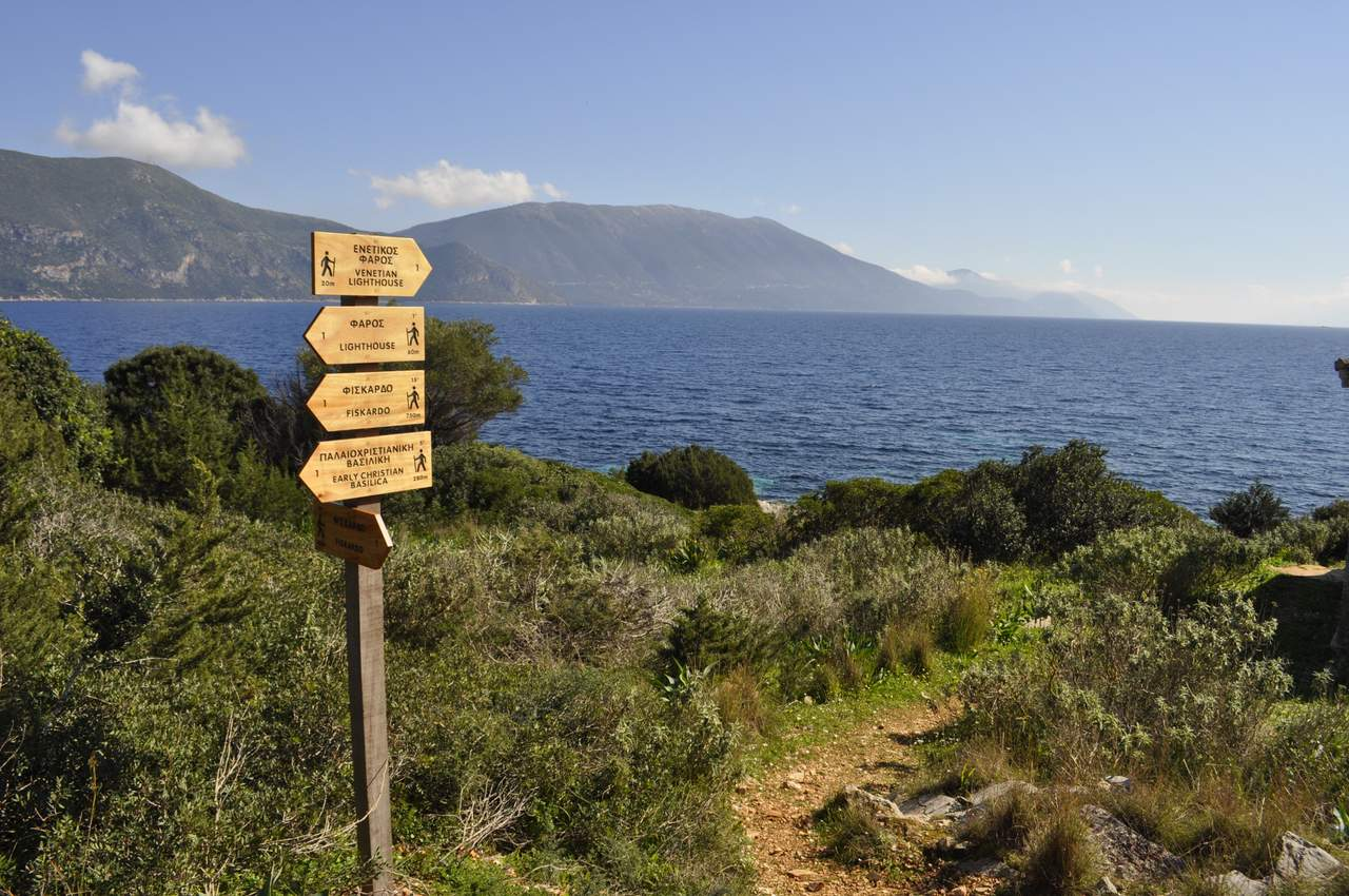footpaths of kefalonia