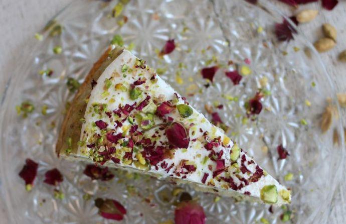 The Cardamom Rose Cake